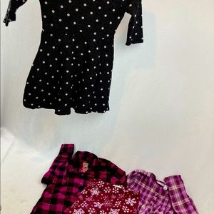 Lot girl clothing size 6 (4ct)
